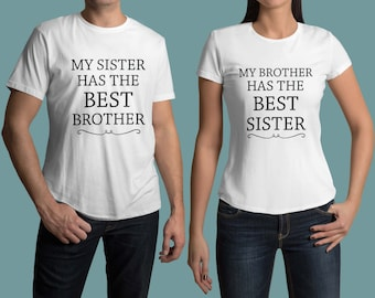 Best brother shirt, best sister shirt, Brother sister shirts, Big brother shirt, Big Sister shirt, Siblings shirts, Birthday Family shirt