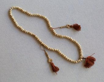 Yak Bone Nepal Mala Necklace Bracelet