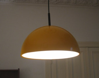 Large pendant lamp of Staff of the 1970s