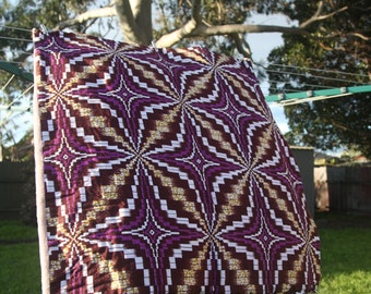 African Ankara Baby and Toddler Blanket - Great for a baby shower, newborn or toddler