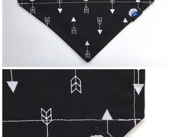 What Goes Up Must Come Down bandana (black)