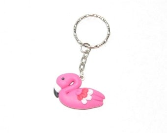 Keychain Flamingo - Exotic Accessory for Summer Fashion