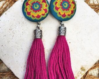 Turk Tassel Earrings