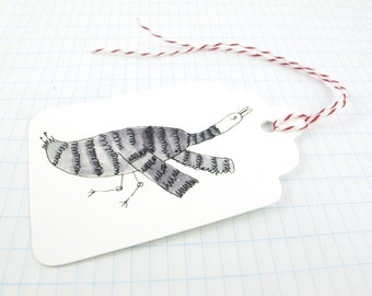 Gift Tags: Instant download Many Birds