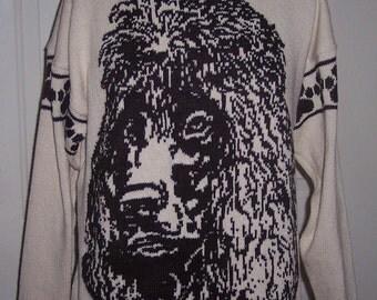 Custom Knit Irish Water Spaniel Dog Sweater ****Create your own sweater see below*****
