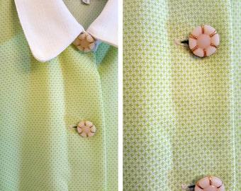 Vintage Lime Dress L