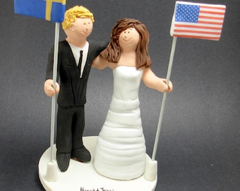 swedish wedding cake toppers swedish cake toppers etsy 20687