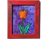 Orange Tulip Painting - O...
