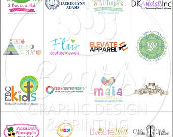Custom Logo Design Branding
