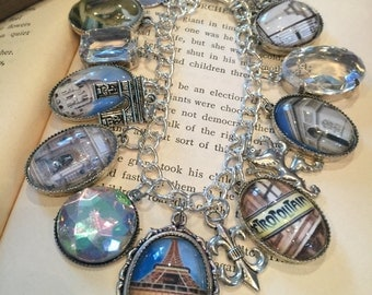 Paris Charm Bracelet - Parisian and Perfect