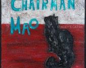 Chairman Mao Cat Art Print