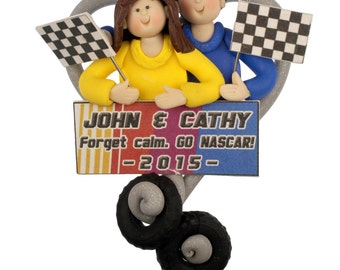Nascar Lover Ornament - One or Two People