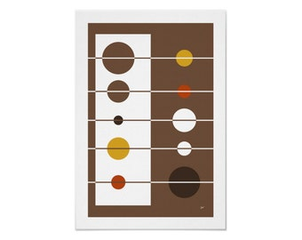 GoGo Art Print in Your Choice of Colors, Sizes and Types of Paper with Free US Shipping
