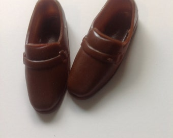 Vintage Ken Brown Shoes Loafers