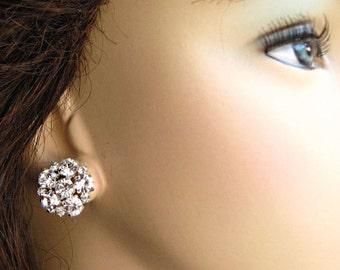 Bridesmaids Earrings,Stud Earrings, Bridesmaid Gifts, Bridesmaids Jewelry, Post Earrings, crystal studs, wedding earrings, bridal jewelry