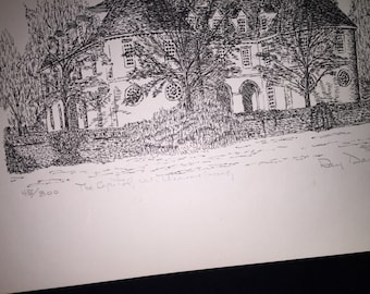 Williamsburg Capitol Print by Ray Davis