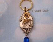 SCHNAUZER ANGEL Memorial Keychain.Schnauzer Sympathy Gift. Remembrance Keepsake. Gifts for Women/Her. Key Chain Vintage Style Gift for Women