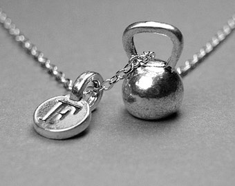 Kettlebell Necklace Etsy