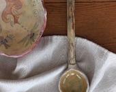 Driftwood Handle Rustic Natural Ceramic Spoon