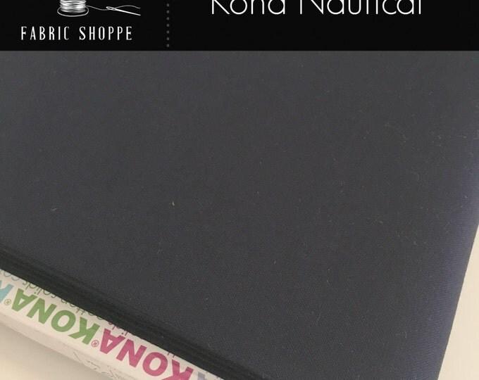 Kona cotton solid quilt fabric, Kona NAUTICAL 412, Kona fabric, Solid fabric Yardage, Kaufman, Blue fabric, Choose the cut