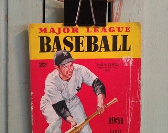 1951 Major League Baseball Facts, Figures and Official Rules, Phil Rizzuto, Player of the Year 1950, Bob Lemon Cleveland Indians, Sports