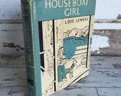 Lois Lenski - Houseboat Girl - First Edition - Rare Vintage Children's book