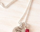 Christmas Jewelry, Dear Santa I Can Explain, tyGirls Jewelry, Gift for Her, Best Friend Gift, Naughty or Nice, Naugh List, Naughty Nice Gift