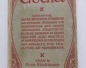 Antique Book Home Art Series Artistic Crochet edited by Flora Klickmann