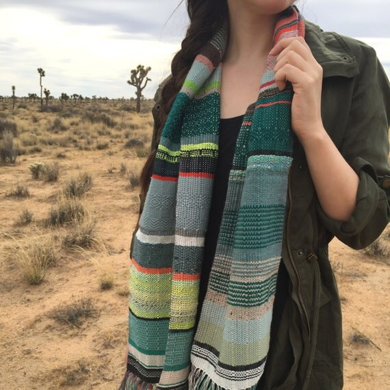 CUSTOM Handwoven Scarf | Woven Made to Order Scarf | Womens Personalized Neckwear | pidge pidge One of a Kind Heirloom Accessory
