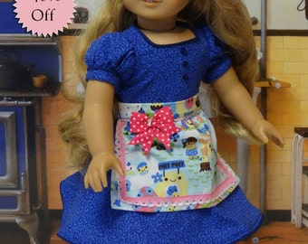 Sugar Rush - Dress and apron for American Girl doll **Sale**