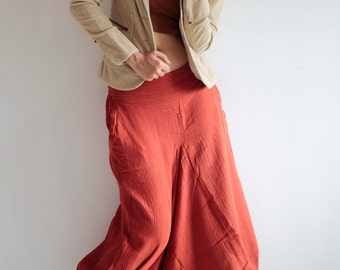 Wabi-Sabi...hippie pants  / harem pants /Linen/cotton In all colour and all size M,L,XL