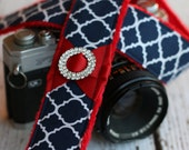 Cute Camera Strap - Camera Strap - dSLR Camera Strap - Padded Camera Strap - Nikon Camera Strap - Fashion Camera Strap - Gift for Her