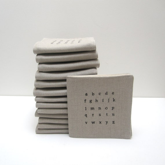 fabric alphabet book