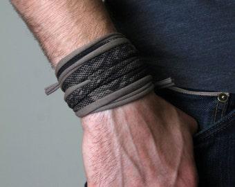 Tan Bracelet, Brown Bracelet, Mens, Womens, Cotton, Coachella Clothing, Festival, Music Festival Bracelet, Mens Bracelet, Wrap Bracelet