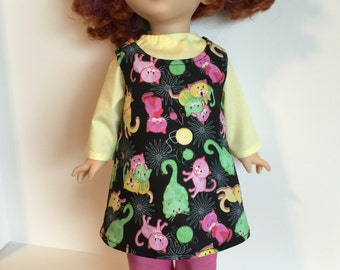 "Handmade 18"" fits dolls like American Girl Fancy Nancy Our Generation 18"" Doll Clothes"