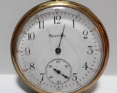 Vintage Pocket Watch Hamilton Lancaster Watch Company