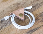 "Leather Cord Keeper // ""the cordita"" by fullgive in natural"