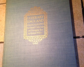 1944 Literary England Vintage Book