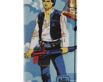 Passport wallet - Han Solo Star Wars vintage fabric