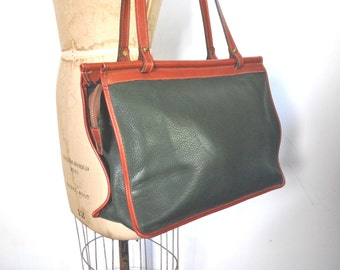 Jack Georges Leather Tote / Market Bag / large purse