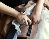Adjustable Wedding Garter Utility Suspenders Skirt Lifter Sweater Closure