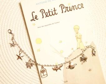 The little Prince charm bracelet, Le Petit Prince, The Little Prince, Der Kleine Prinz, הנסיך הקטן, charm bracelet,