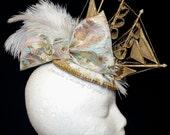 Custom Marie Antoinette Fascinator