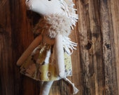 The Wonder-filled Unicorn Plush - fur cape with floral skirt