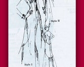 1970's Spadea Couture  Pattern 70126  * DRAMATIC  Figure Flattering Halter Top  Evening Gown  //  Size 12, Bust 34
