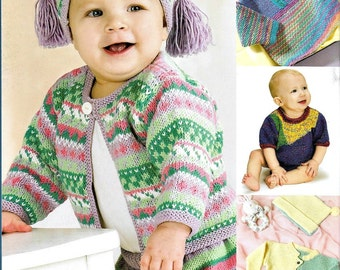 Tickle-Me Knits, Toddler Sizes, Knitting Patterns, Rompers, Pants, Hats, Sweaters, Booties Hand Knits for Babies, Toddler Knits