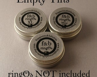 Empty ringOs Tin ~~ CHOOSE YOUR LABEL! ~~