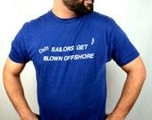 Funny Vintage 80s Sailor Shirt Tee Tshirt