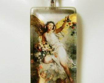 Angel pendant with chain - GP12-239