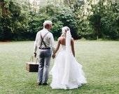 Wedding Veil, Bridal Veil, Soft, English Net Veil